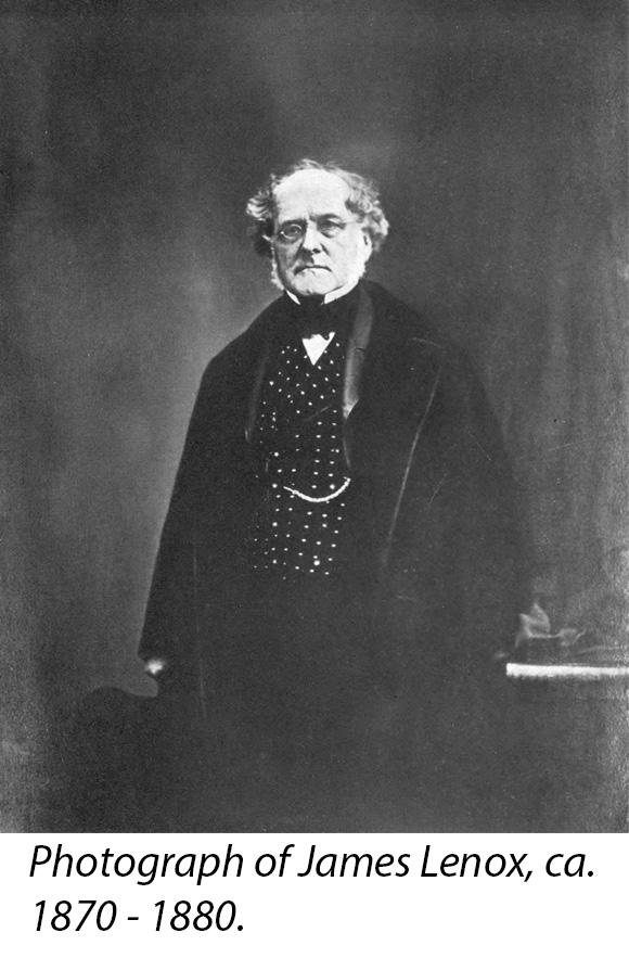 Photograph of James Lenox