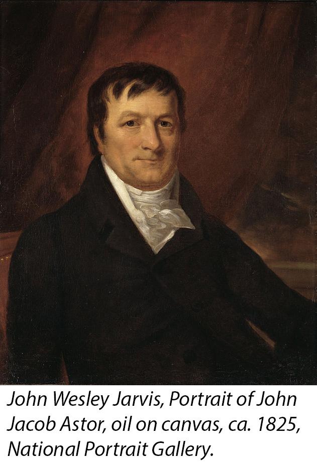 Portrait of John Jacob Astor