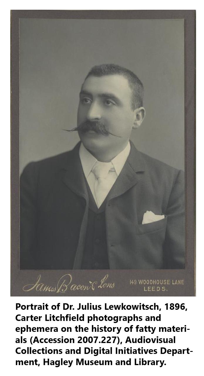 Portrait of Lewkowitsch