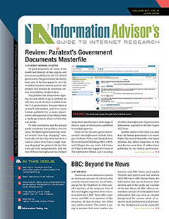 New Review of U.S. Documents Masterfile 1774-2016