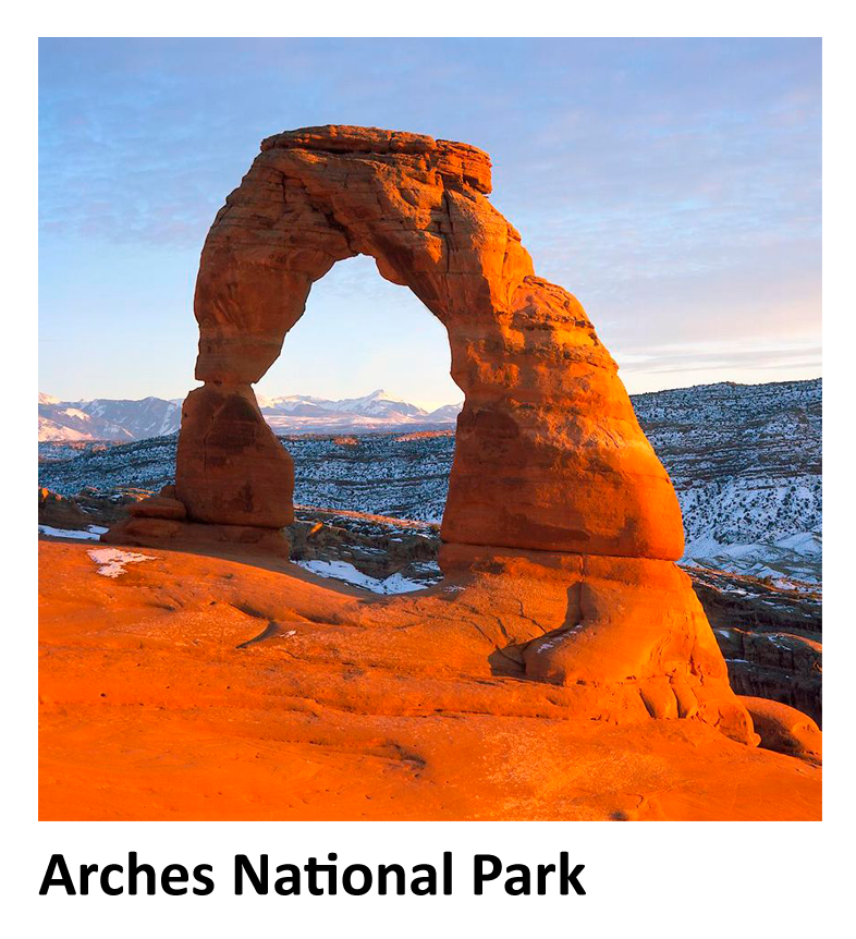 Photograph of Arches National Park