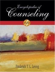 Cover of the Encyclopedia of Counseling