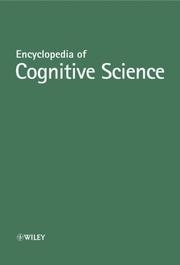 Cover image of Encyclopedia of Cognitive Science