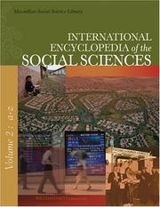 Cover image of International Encyclopedia of the Social Sciences
