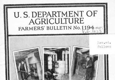 """A Profitable, Elevating, and Attractive Profession"": Bettering Farming through the Farmers' Bulletin"