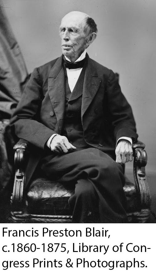 Photograph of Francis Blair