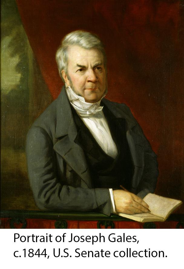 Portrait of Joseph Gales