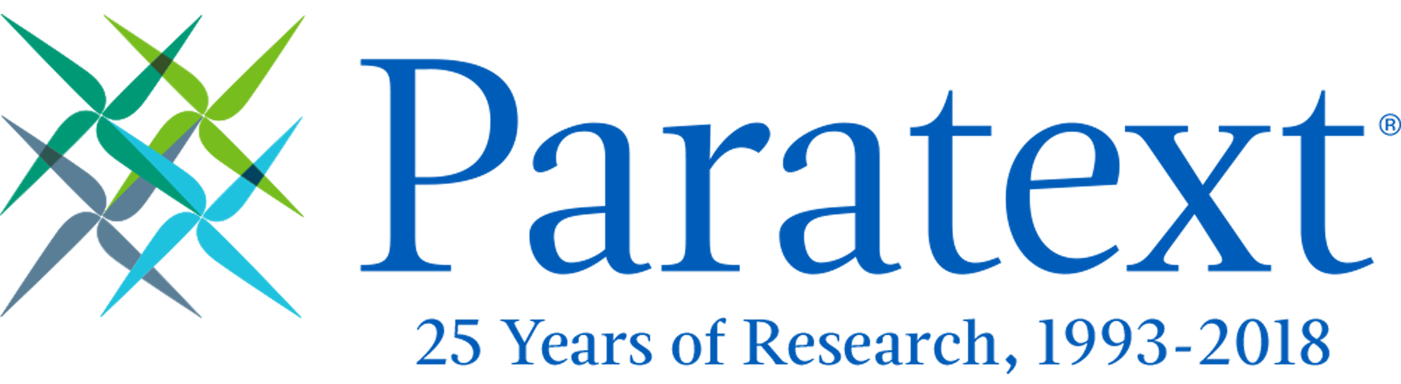 Paratext Celebrates 25 Years of Research, 1993-2018