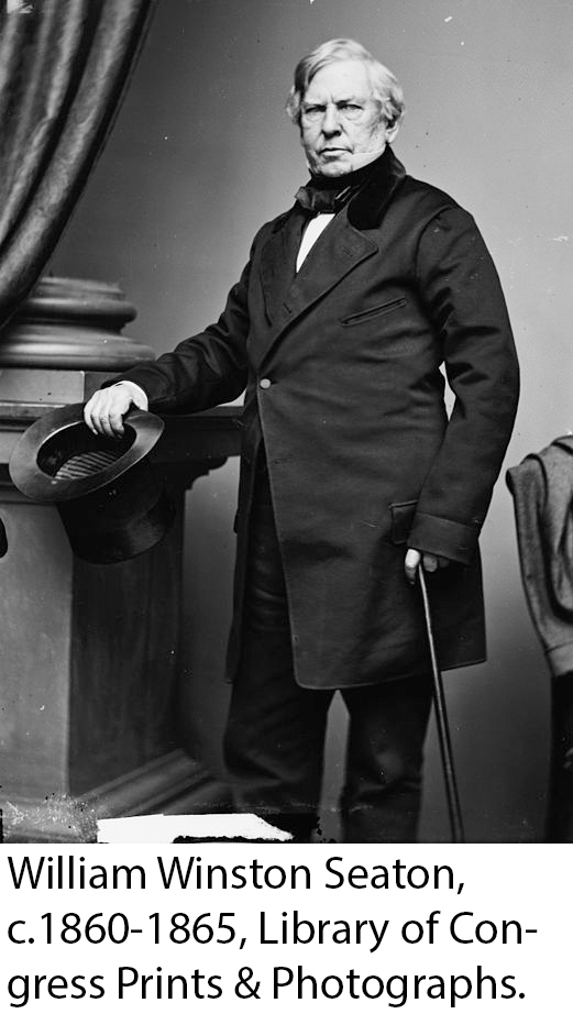 Photograph of William Seaton